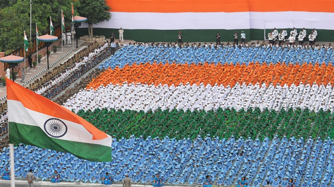 Celebrating India's 72nd Independence Day