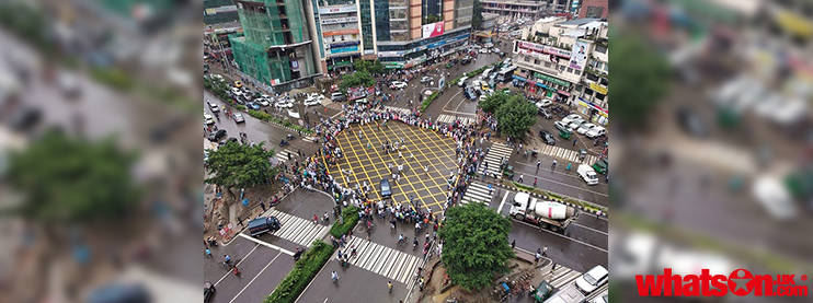 Road Safety Demand Protest Continue: Dhaka is Shaken by Youth Spirit