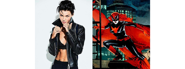 Ruby Rose to Become First Lesbian Superhero Batwoman