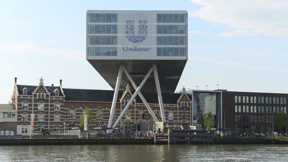 Unilever Walk Out on the Plan of Relocating its HQ from London to Rotterdam