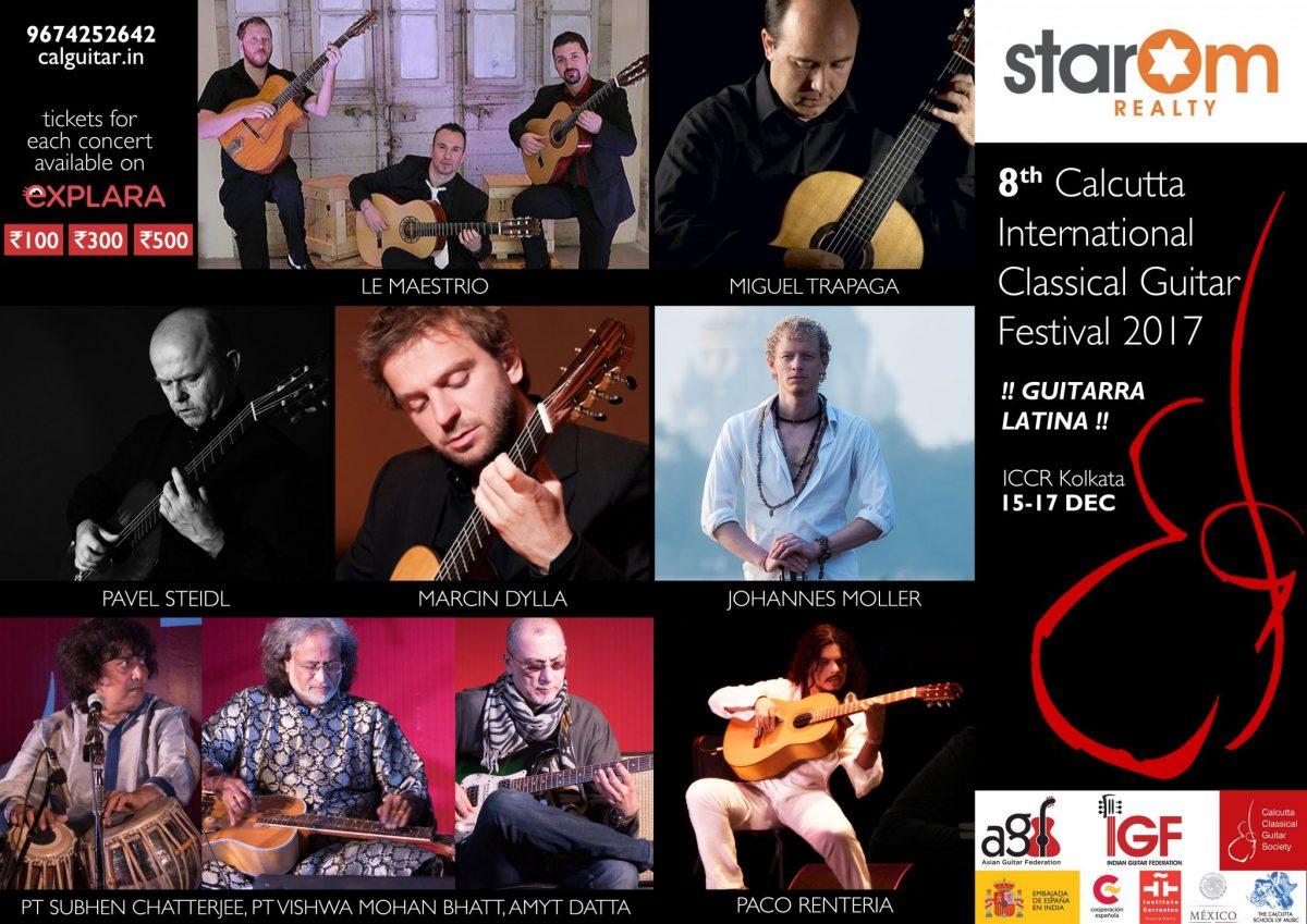 9th Calcutta International Classical Guitar Festival 2018