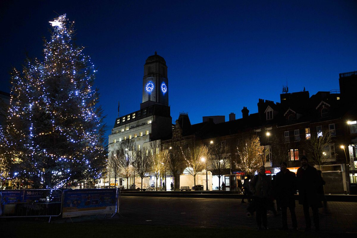 Shop and be Entertained in Luton Town Centre this Christmas