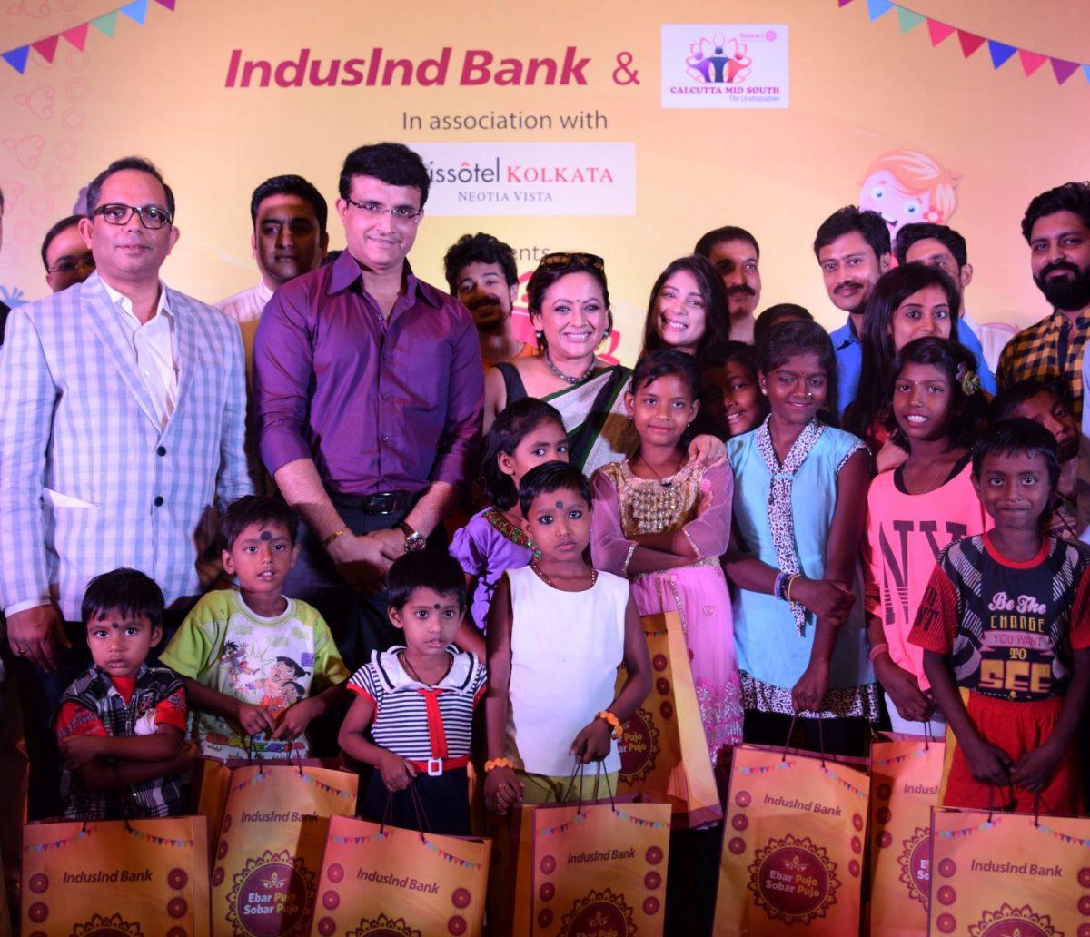 `Ebar Pujo – Sobar Pujo' in Kolkata & Howrah brings smiles to under-privileged children
