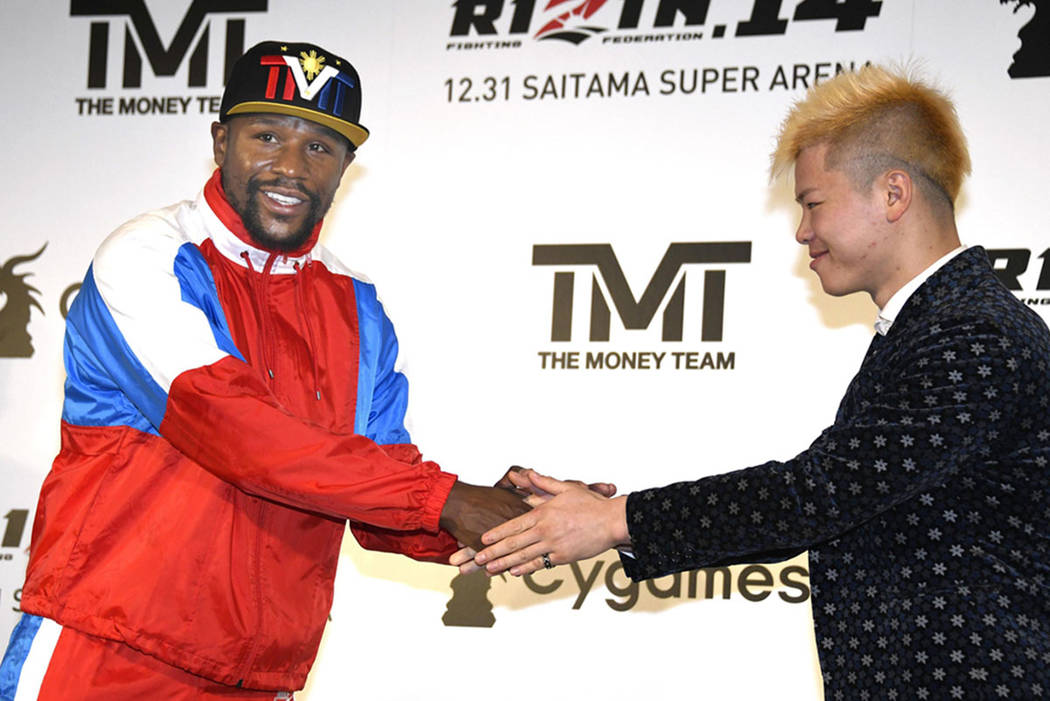 Mayweather to Fight Kick-boxer Nasukawa in Japan on New Year's Eve