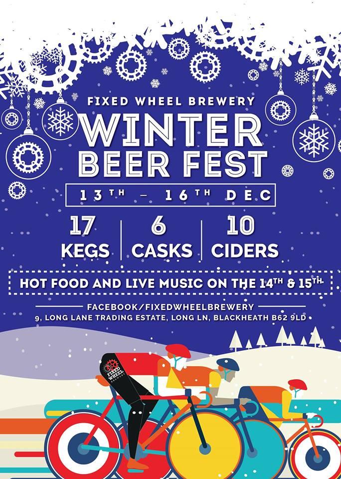 Fixed Wheel Winter Beer Fest 2018