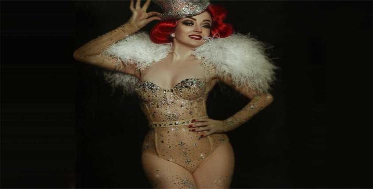 Miss Polly Rae Christmas Cabaret
