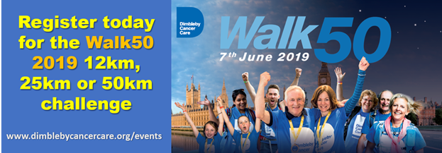Dimbleby Cancer Care – Annual Walk50