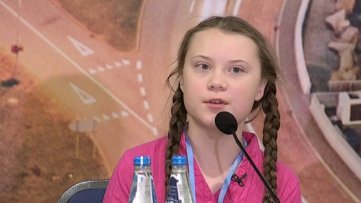 Greta Thunberg Receives Amnesty International's Ambassador of Conscience Award