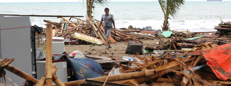 Indonesia: Tsunami Hits Sunda Strait Beaches