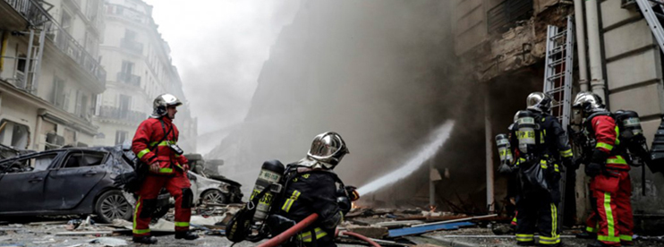 Paris: Bakery 'Gas Explosion' Left Two Dead and Dozens Hurt