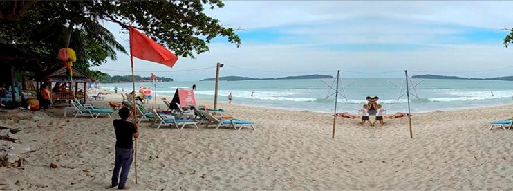 Thailand: Tropical Storm Pabuk Washed the Coast