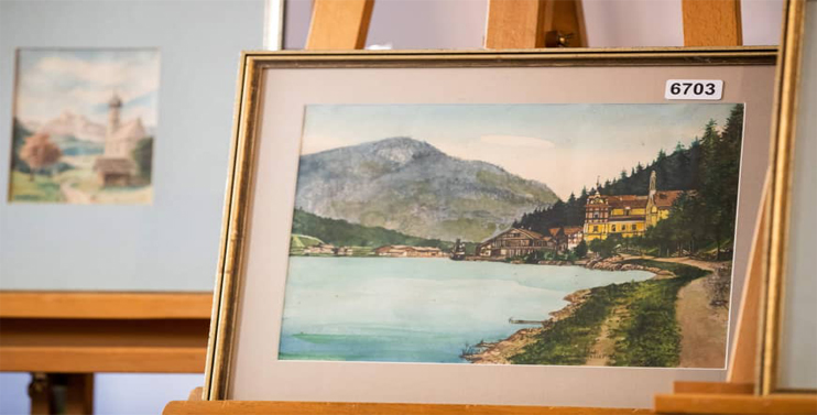 Artworks by Adolf Hitler Fail to Find Buyer
