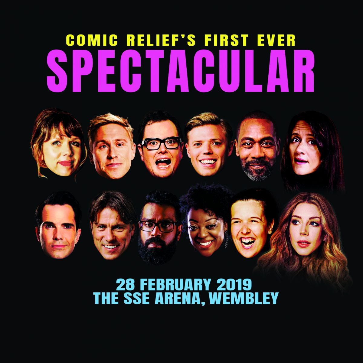 Comic Relief is to Present One-off Comedy Show 'Spectacular'