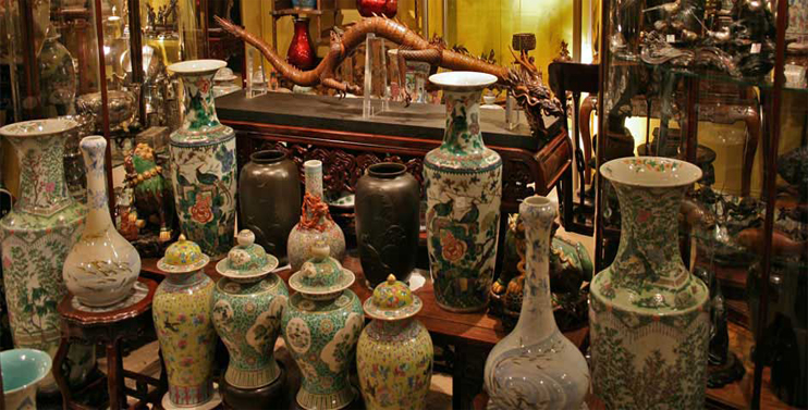 5 top Antique Shops in London