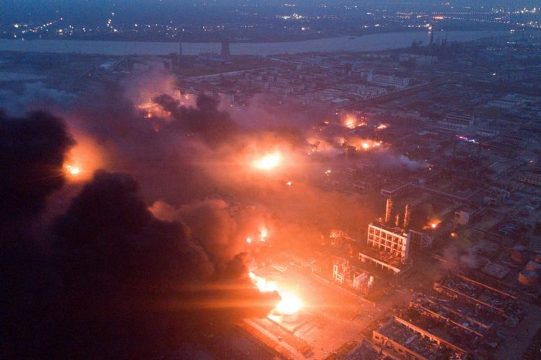 At Least 47 Died and 640 Injured in China Chemical Plant Blast