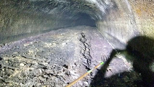 105 Ton of 'Concreteberg' has Blocked London Sewers