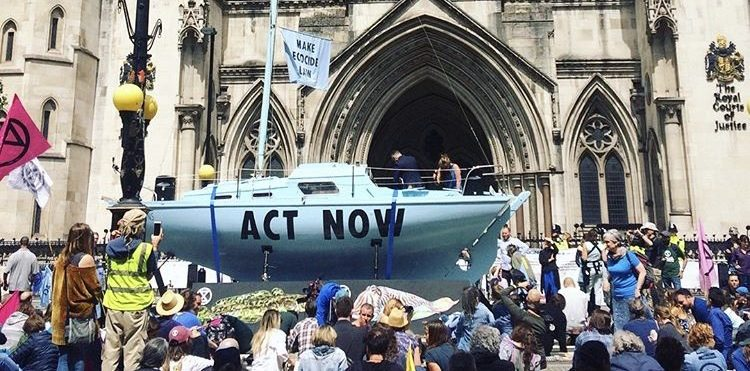 Extinction Rebellion tells government to 'ACT NOW' in Summer Uprising protests across the UK