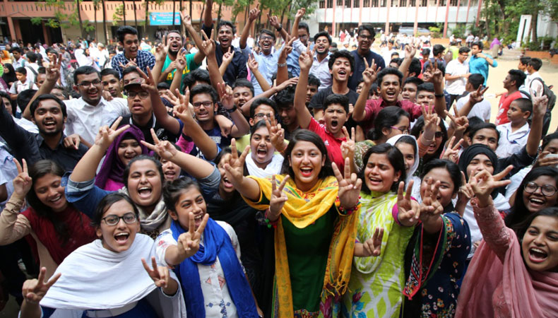 HSC and Equivalent Exam Pass Rate Increased by 7.29% this Year in Bangladesh