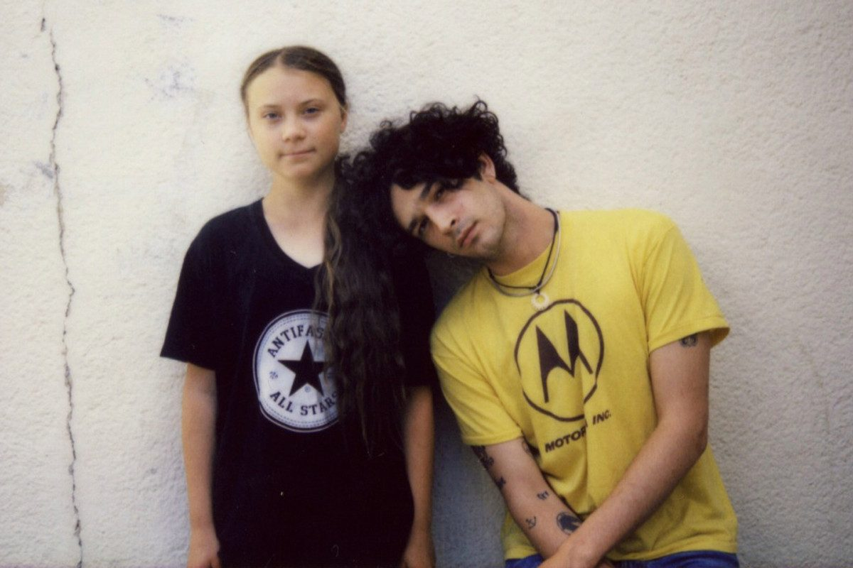 Greta Thunberg sets out ambitious vision on climate change in new track with The 1975
