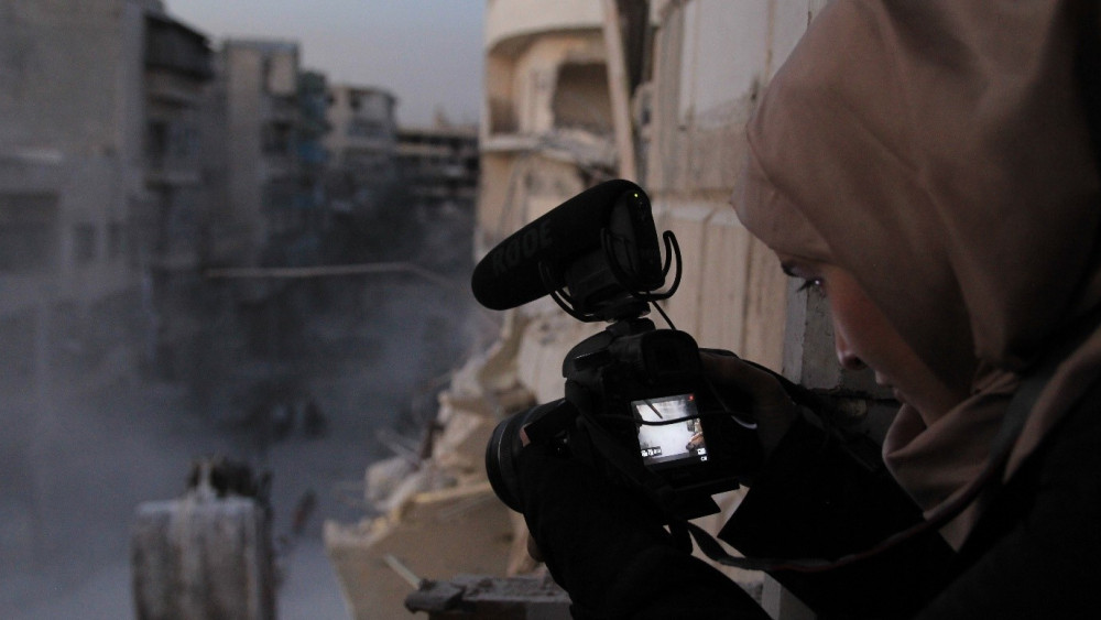 'For Sama' Documentary Film on Syria War will Release Next Thursday in US