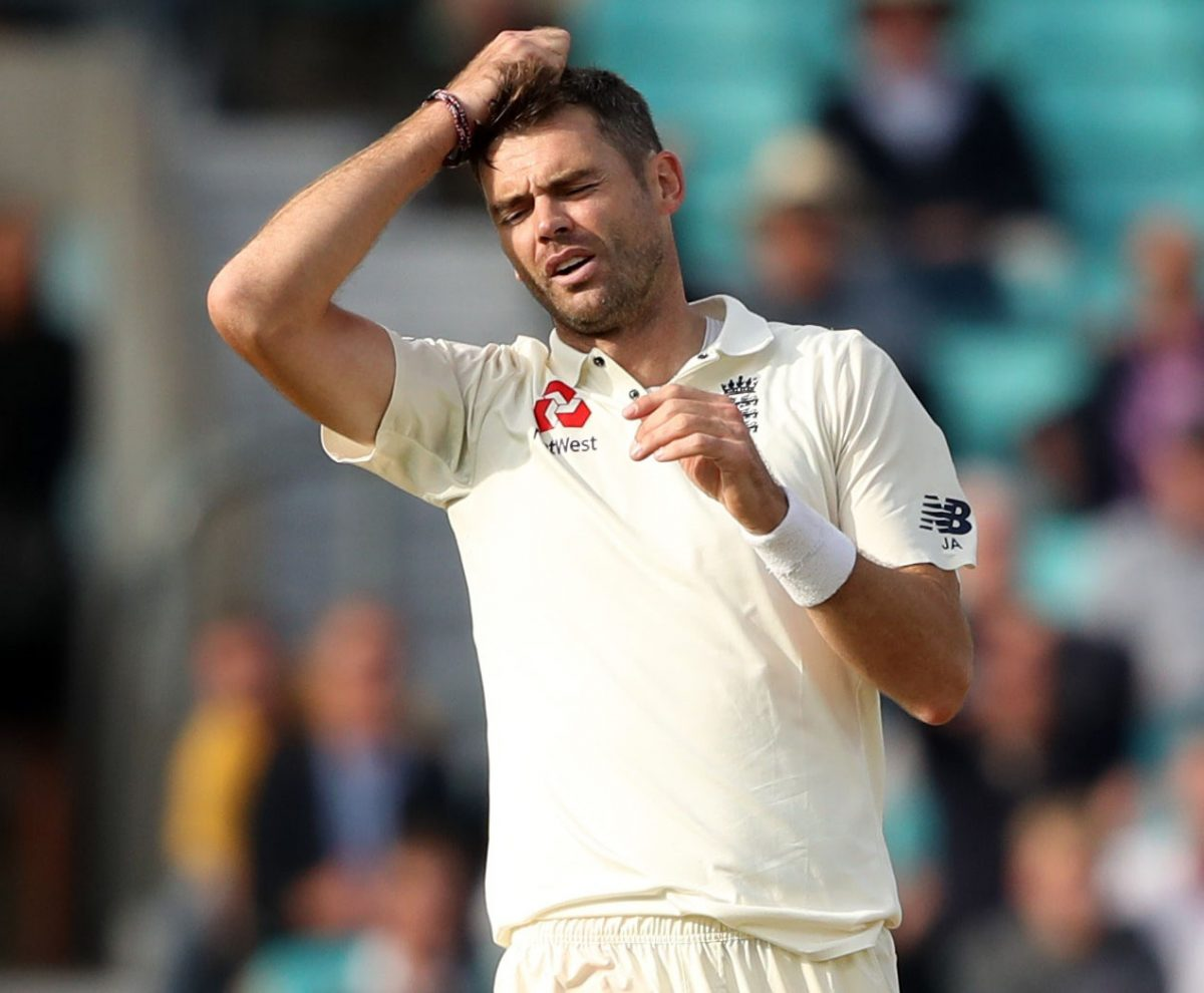 James Anderson Out of Second Ashes Test For Injury