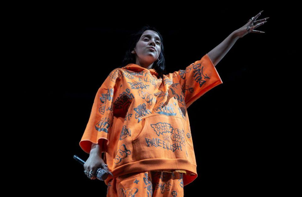 "Billie Eilish plans to carry out a ""green"" tour"