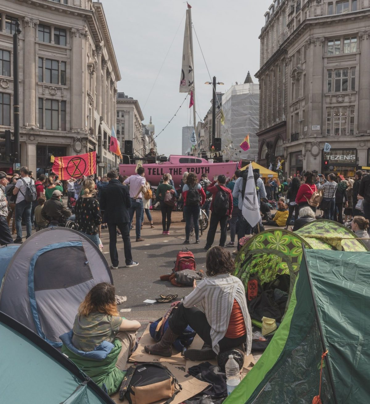 'This Is An Emergency!': My Experience Protesting With Extinction Rebellion