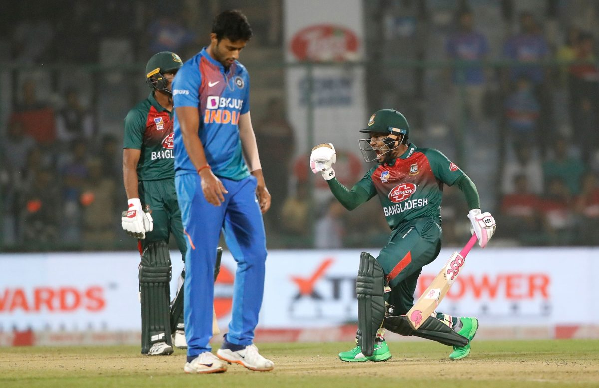 Bangladesh's Maiden T20 Win Against India in India