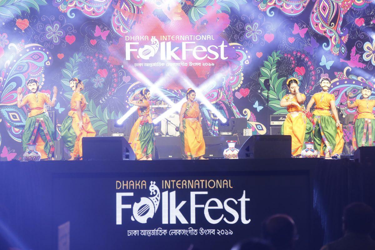 Dhaka International Folk Fest 2019 kicked off Thursday