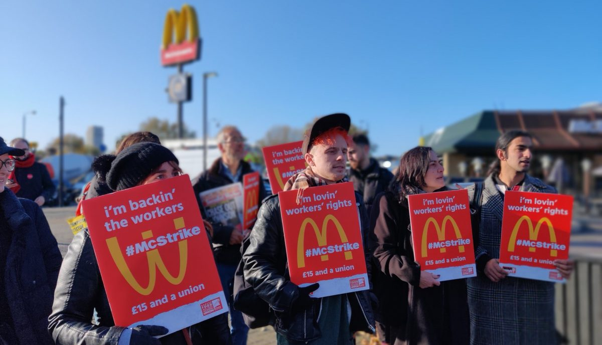 McDonald's workers go on McStrike for better pay and working conditions