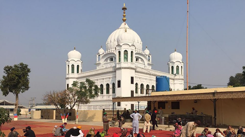 The historic Karatpur corridor now open for Sikh pilgrimage