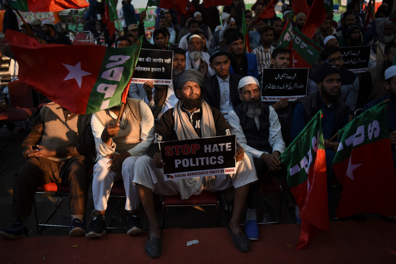 "Protests against India's new ""Anti-Muslim"" citizenship law"