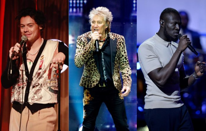 Battle among Harry Styles, Rod Stewart & Stormzy: UK's Christmas Number 1 album