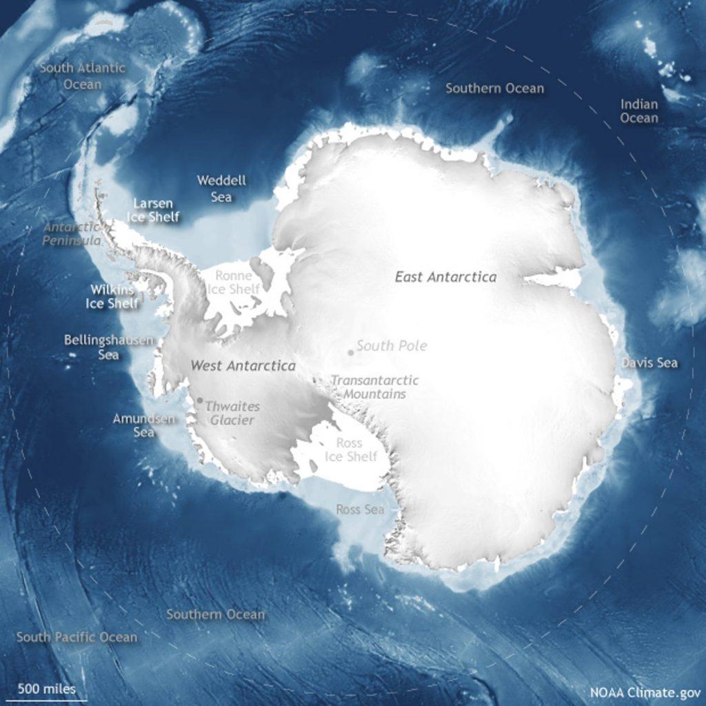 Submarine to Explore Antarctic Glacier