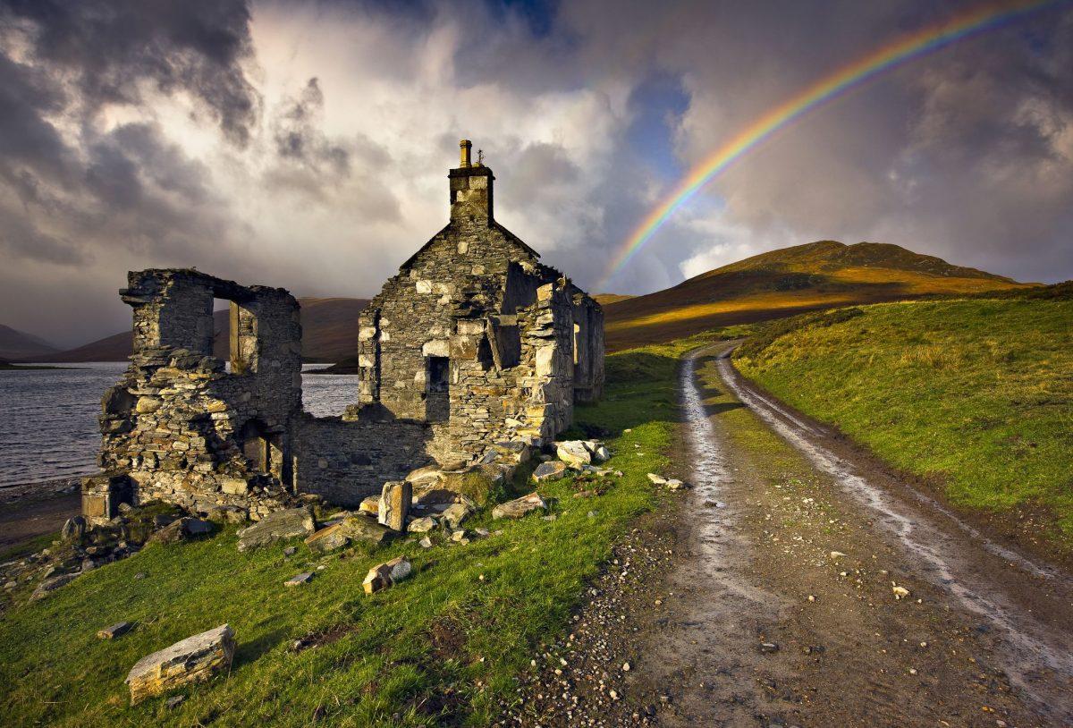 Unusual Temperature Rise in Northern Scotland