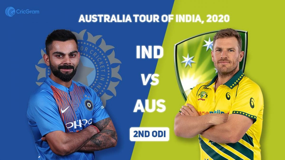 India VS Australia – 2ND ODI