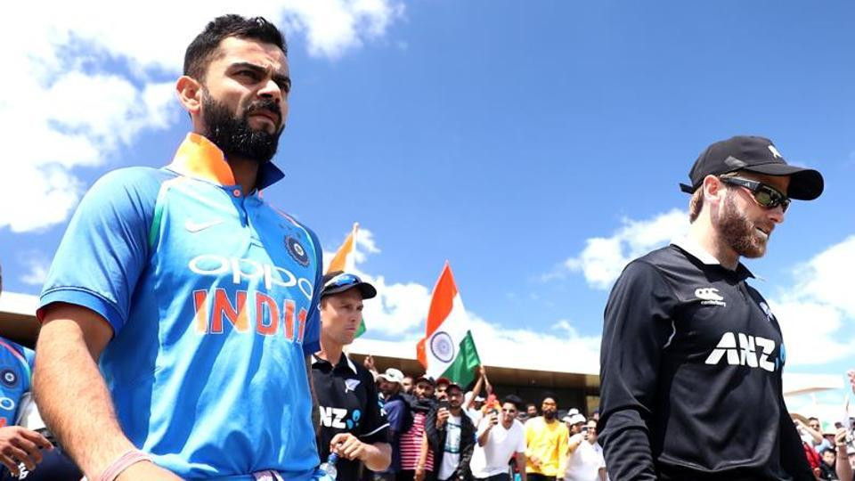 India VS New Zealand – 1st T20