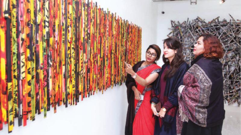 Kazi Salahuddin Ahmed Art Exhibition