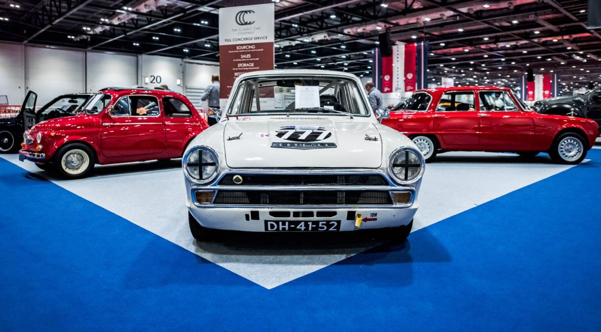 London Classic Car Show at Olympia
