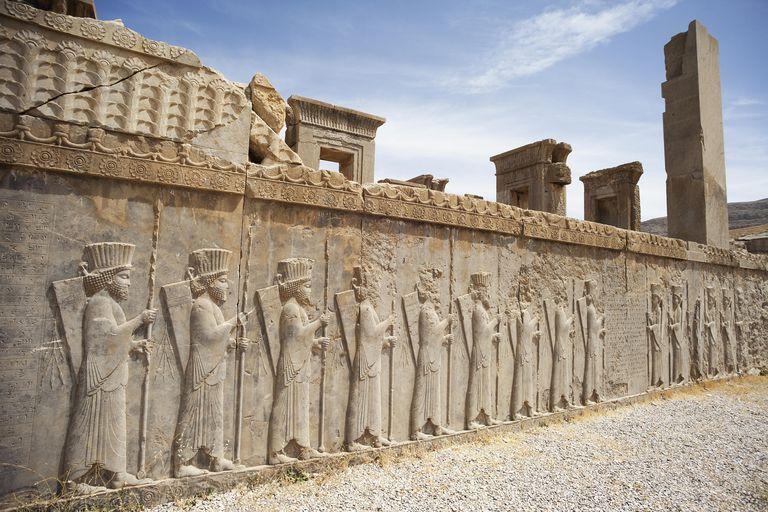 Persepolis was the ceremonial capital of the Achaemenid empire