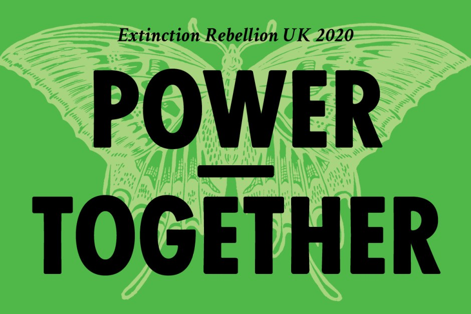 Extinction Rebellion Sets Out 2020 Strategy