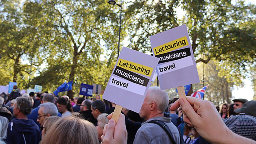 Let Touring Musicians Travel Protest