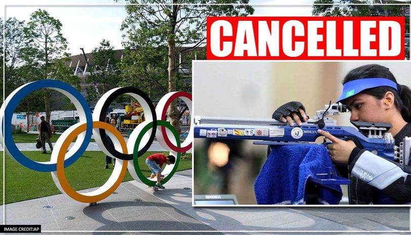 Sports event cancelled