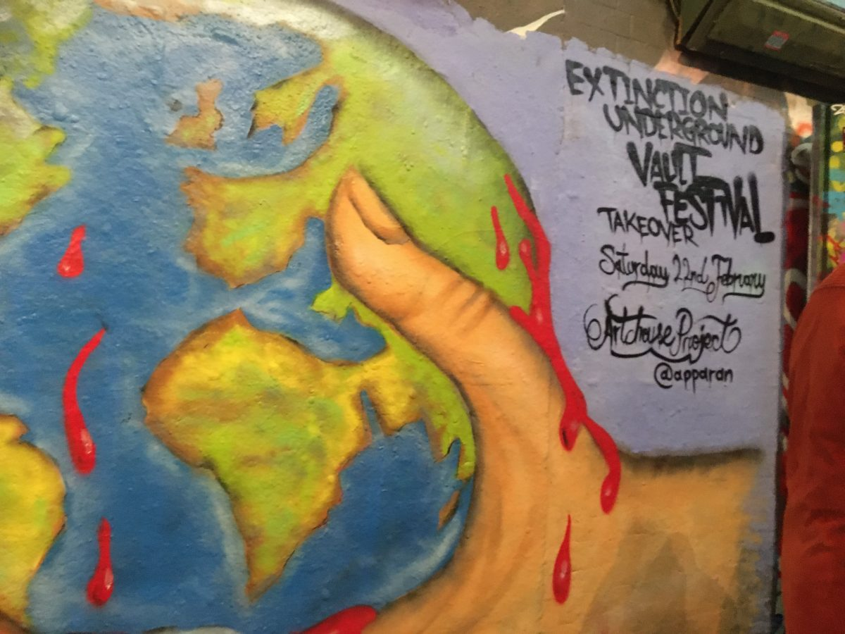 Extinction Underground: Art to Save the Planet