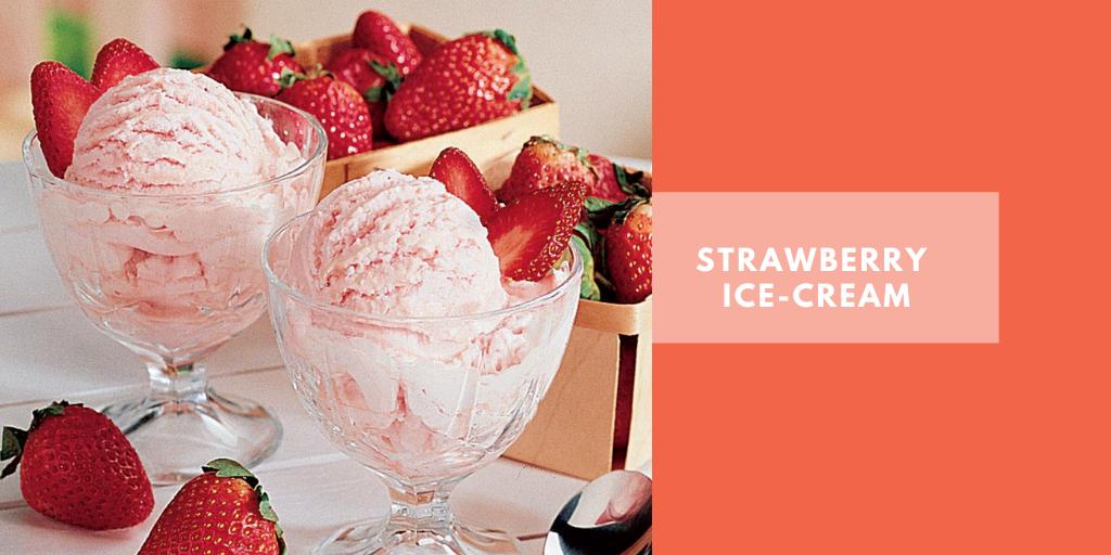 Tasty Tuesday: Easy Homemade Strawberry Ice-cream recipe